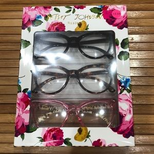 Betsey Johnson readers, 2.0 magnification